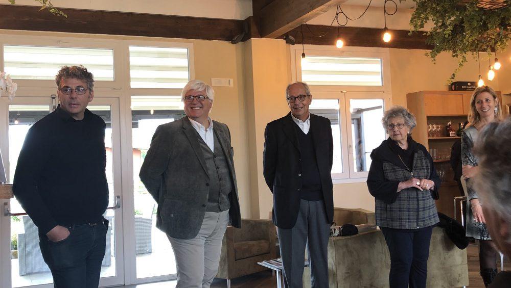 La famiglia Corbino di Podere di Marfisa Wine Relais-SPA- Restaurant