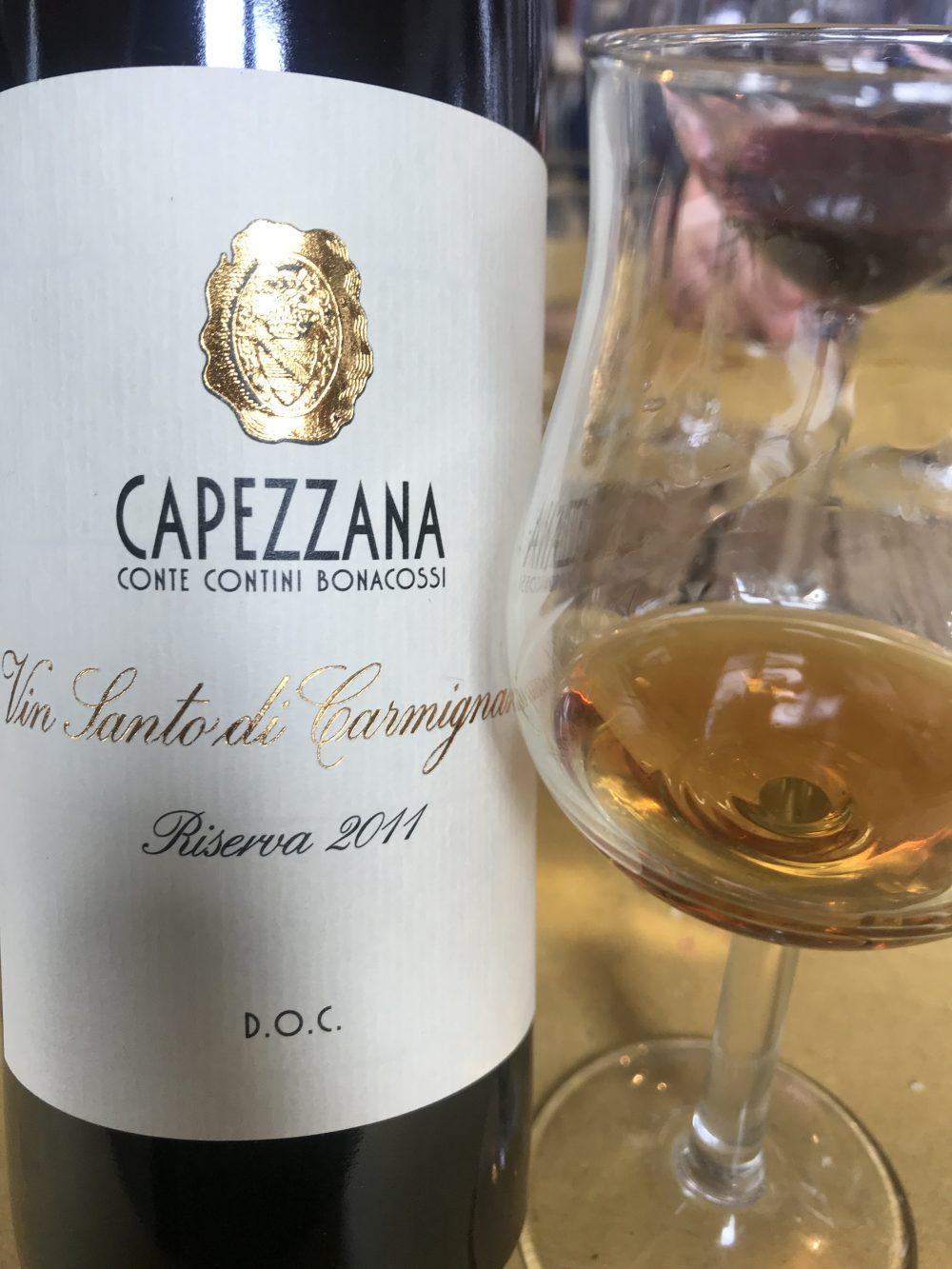Verticale di Trefiano - Vin Santo di Carmignano Riserva di Capezzana