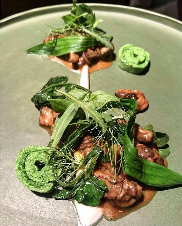 L'Argine, Lumache brasate, frittata alle erbe e maionese