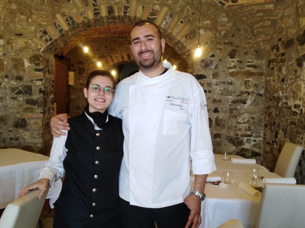 Alessandro Feo e Marika Ferrazzano