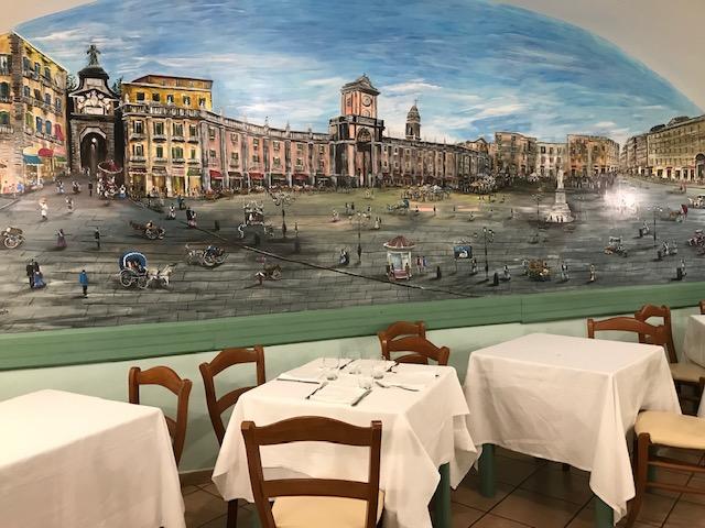 Antica Pizzeria Port'Alba - Sala piano superiore