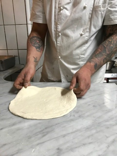 Antica Pizzeria Port'Alba - impasto
