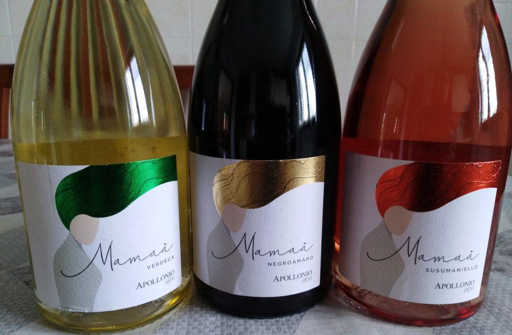 Azienda Apollonio Mamaa' nuove etichette aziendali