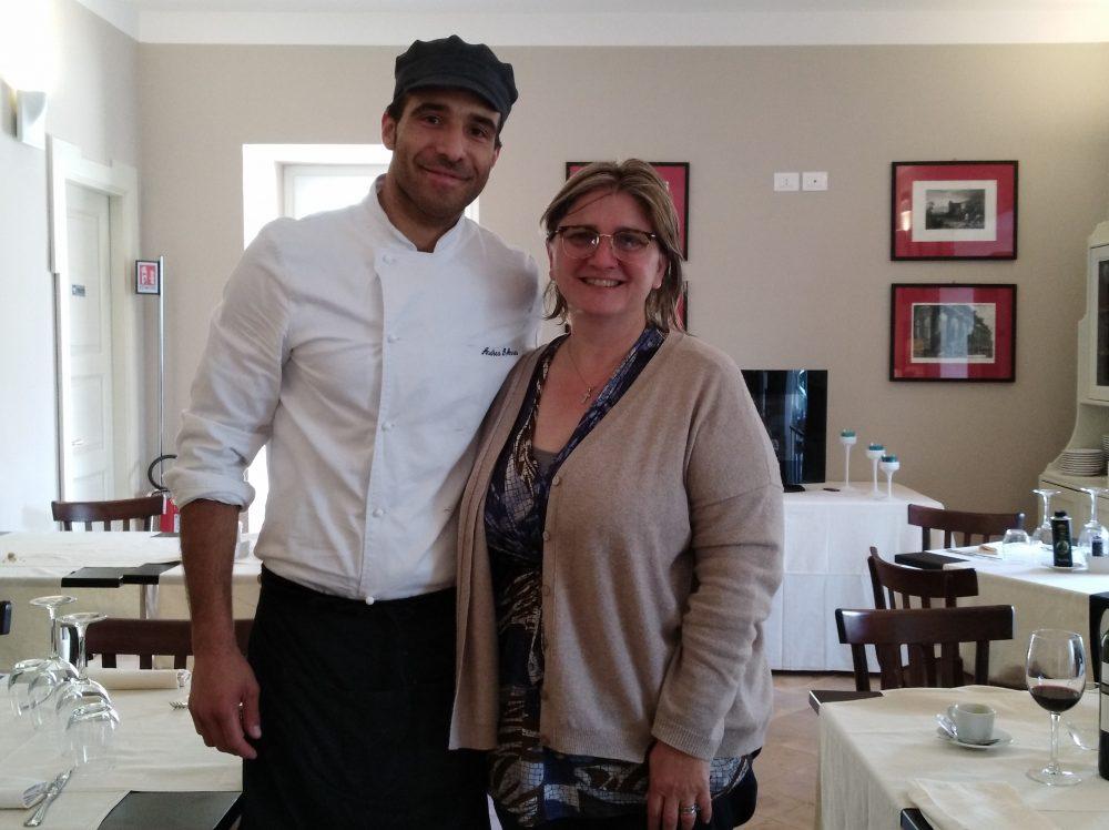 Iumara Lo chef Andrea D'Anna e Teresa Giuliani