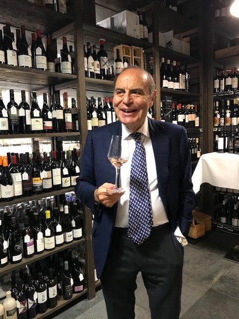 Bruno Vespa alla presentazione dei vini al GranGusto