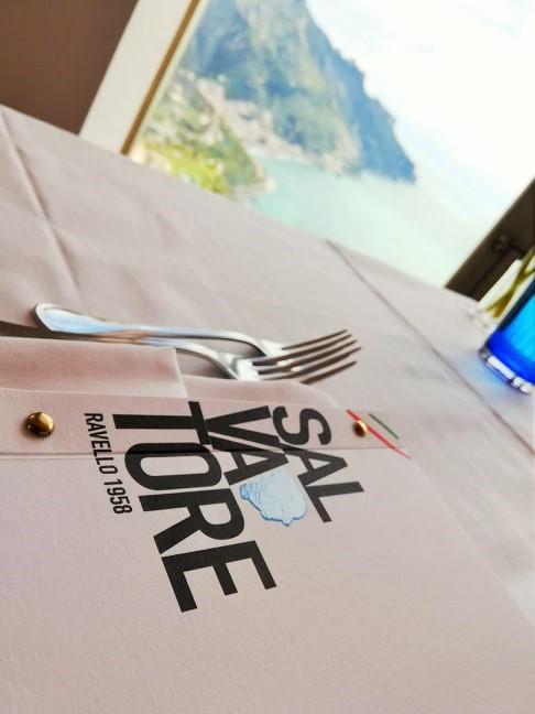 DA SALVATORE - Particolare del menu'