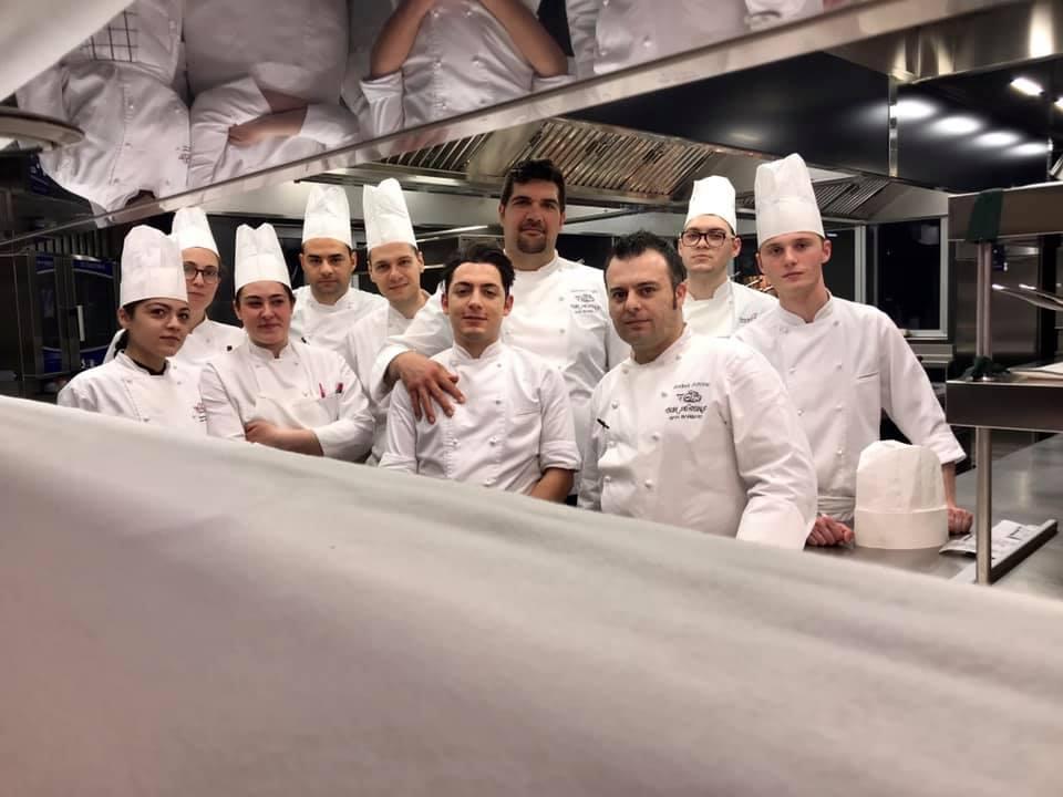 Don Alfonso a Ravello con Ernesto Iaccarino
