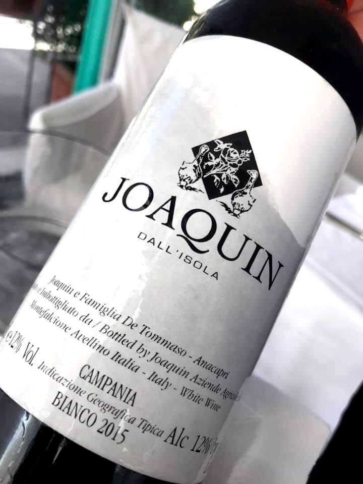 Ristorante D'Amore - I Vini bianchi capresi