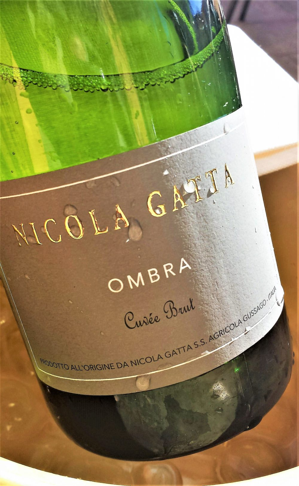 Franciacorta Ombra Cuvee Brut, Nicola Gatta