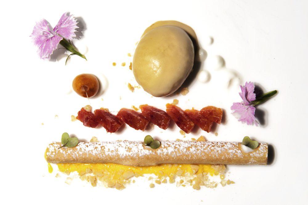 Franco Mare - Crema Catalana, arance, yogurt caramellato