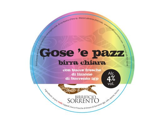 Gose 'e pazz birrificio sorrento