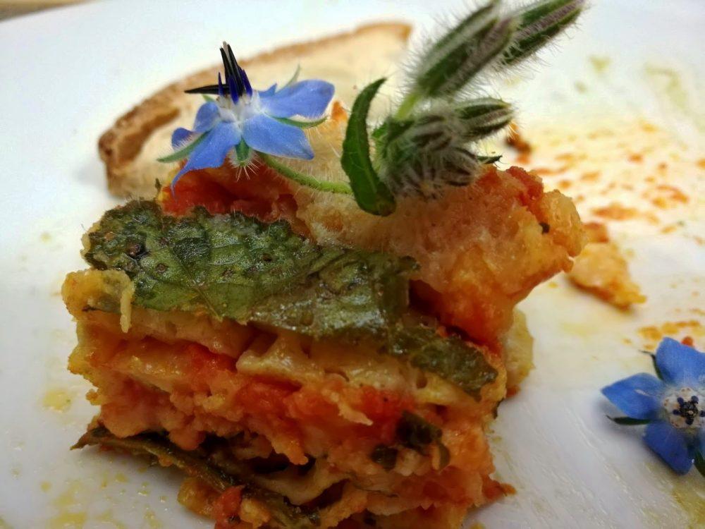 Osteria Centouno - La Parmiggiana di Borragine