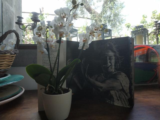 La foto di Lella Granito che si trova nel libro Questa terra e' la mia terra
