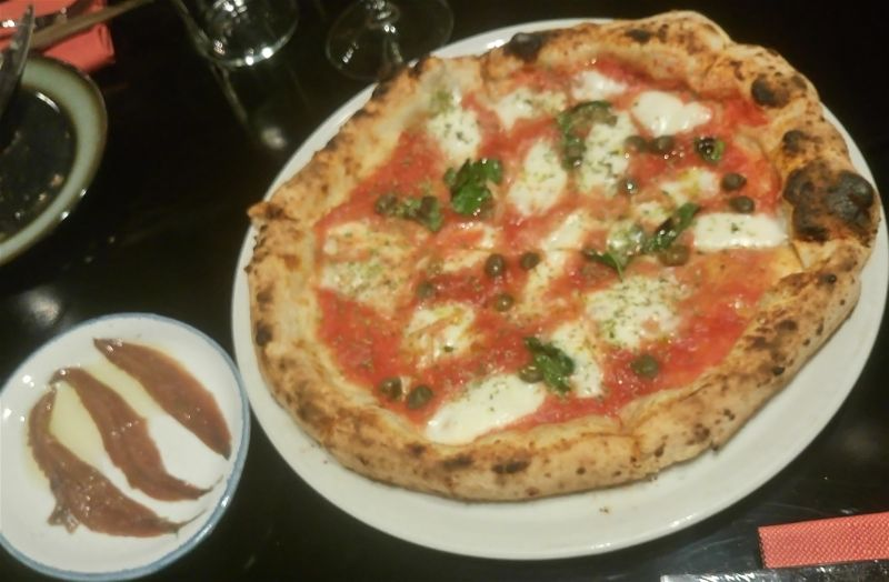 Le follie di Romualdo Firenze san Niccolo - pizza marinara