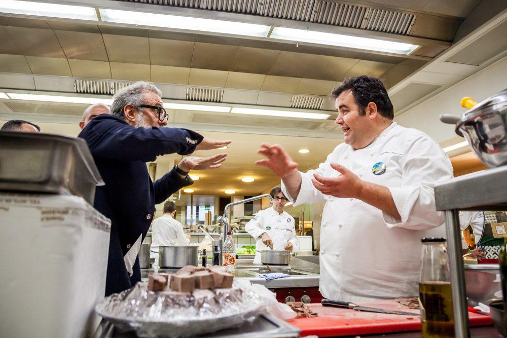 Massimo Bottura e Gennaro Esposito