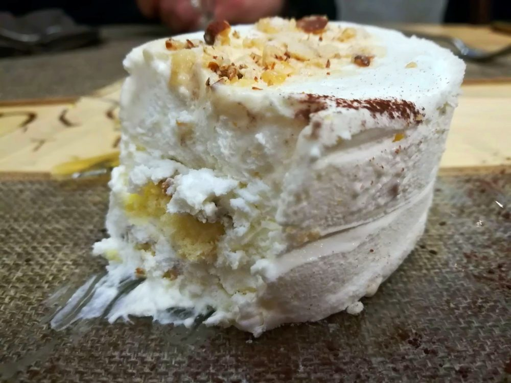 Osteria Centouno - Il dolce al Torroncino