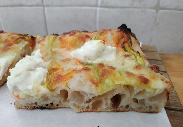 Pizza Chef - Fiori di zucca e ricotta di bufala