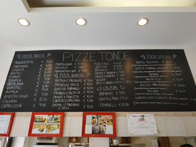 Pizza Chef - La lavagna delle tonde