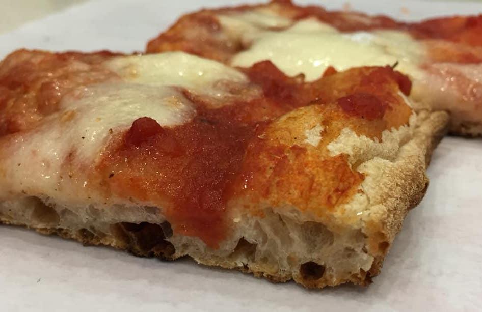 Pizzeria Febbi, la margherita