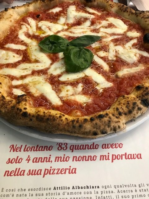 Pizzeria Pummaro' Attilio Albachiara - Pizza Donna Margheri'