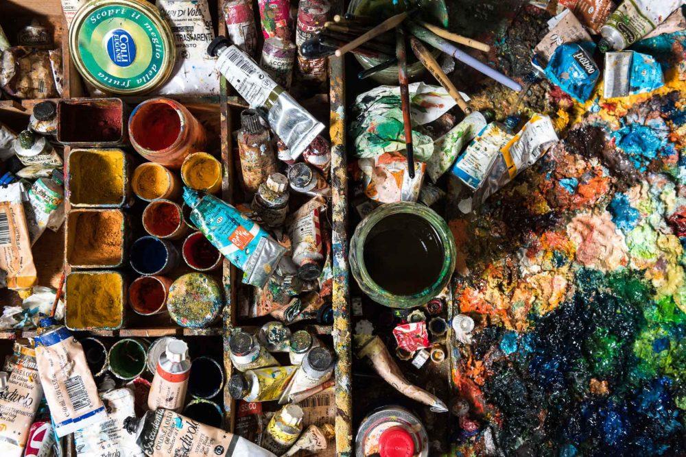 BUONGIORNO CERAMICA - Tavolo di lavoro, Colori