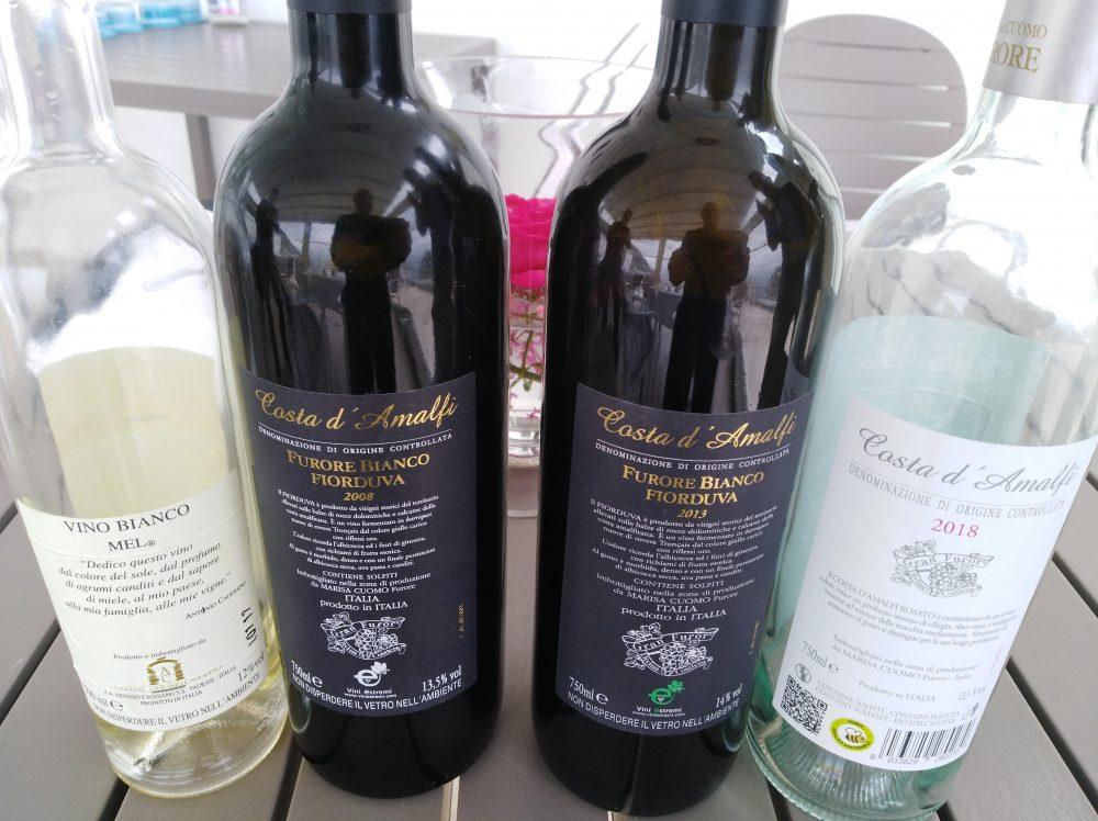 Ristorante Melchio' - Vini degustati