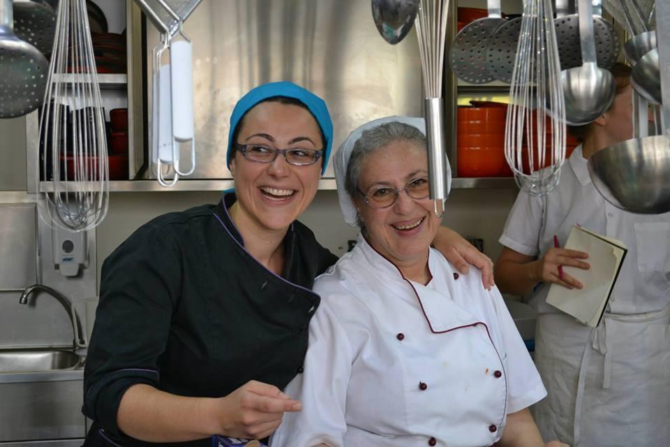 Teresa Di Pietro e la figlia