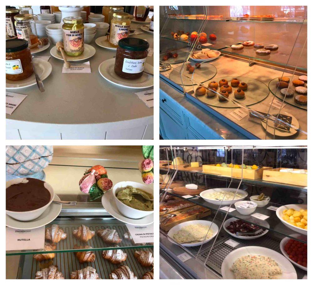 Therasia Resort sea & spa, la colazione