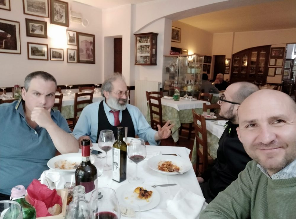 Trattoria Di Pietro - noi a tavola con Enzo