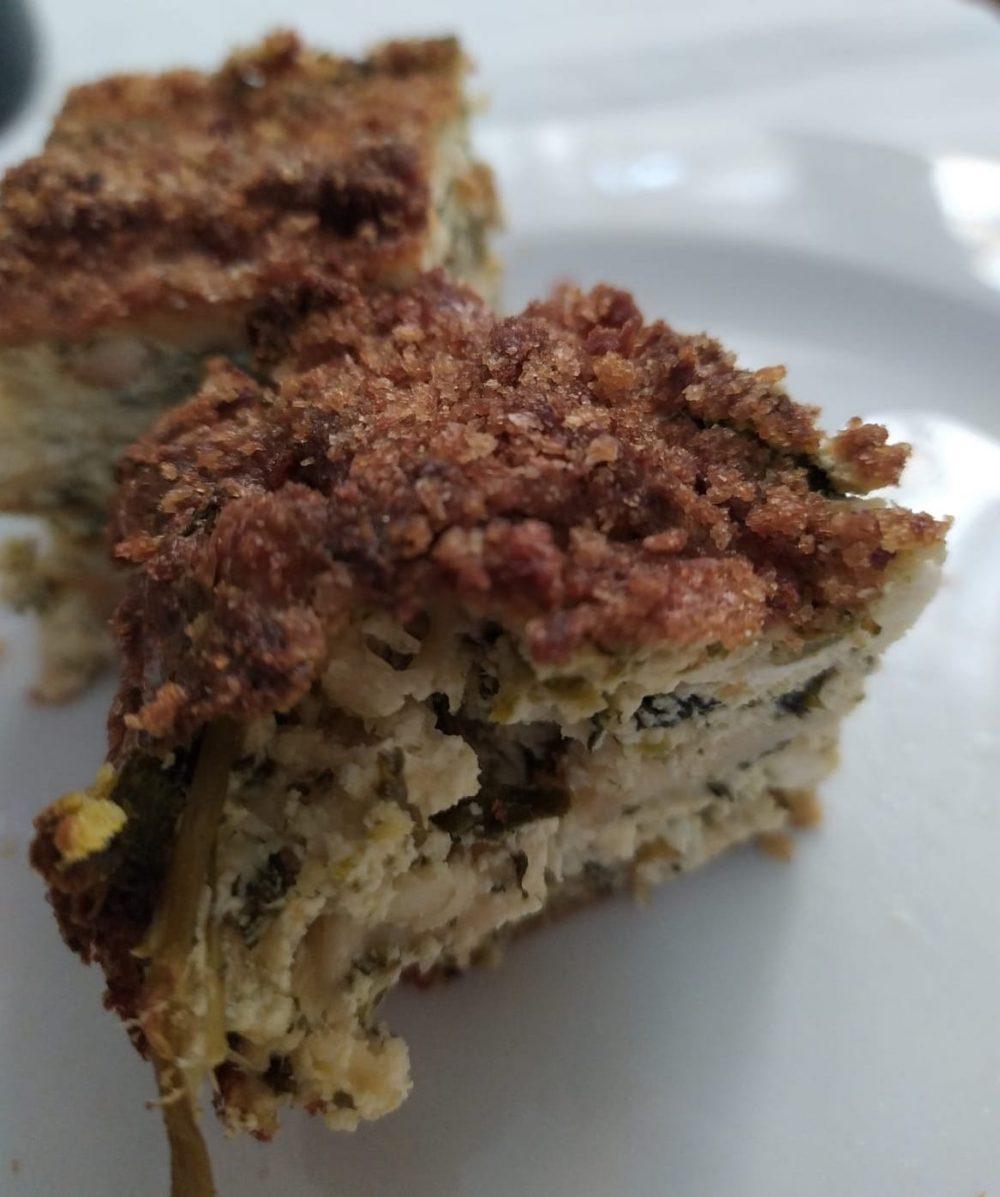 Trattoria Di Pietro - torta rustica coi broccoli