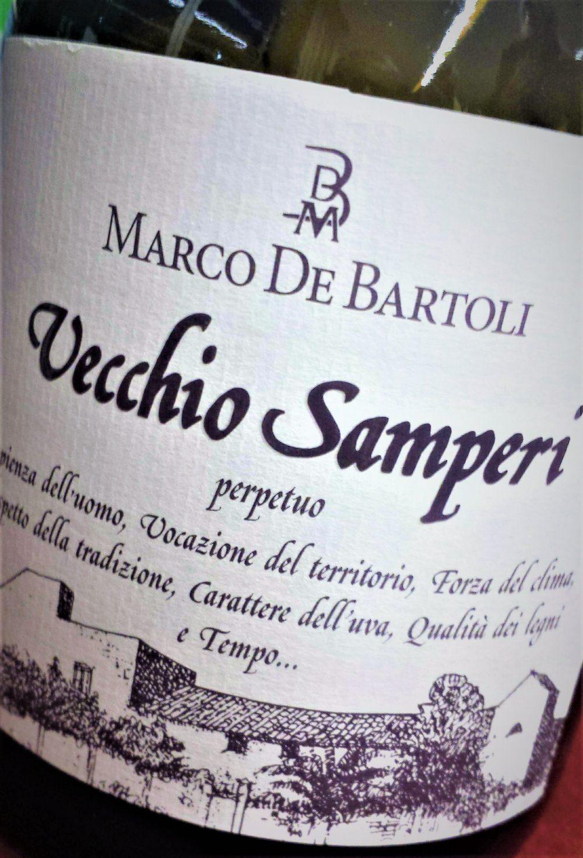 Vecchio Samperi Vino Perpetuo, Marco De Bartoli