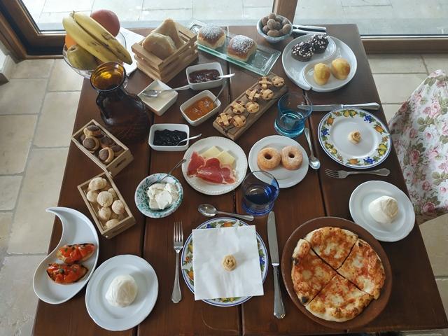 Villa Rosa di Nonna Rosa - la colazione