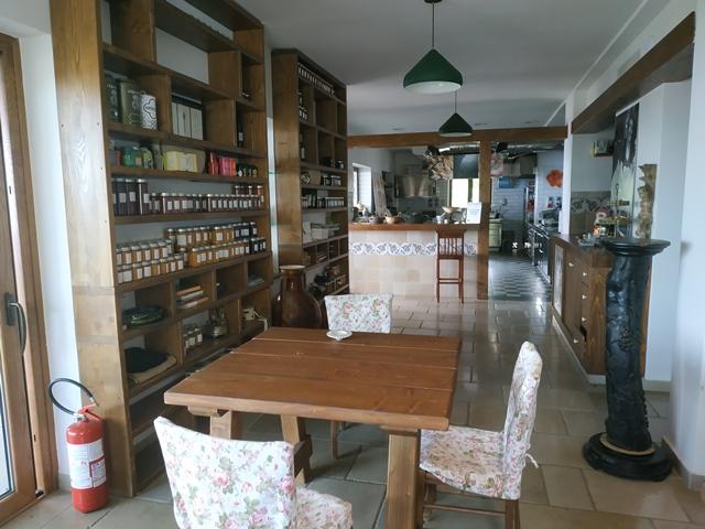 Villa Rosa di Nonna Rosa - la sala interna riservata agli ospiti
