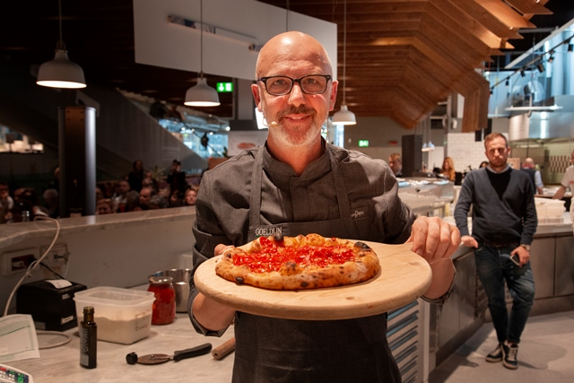 Franco Pepe - impronte di pizza pizza (foto Eataly)