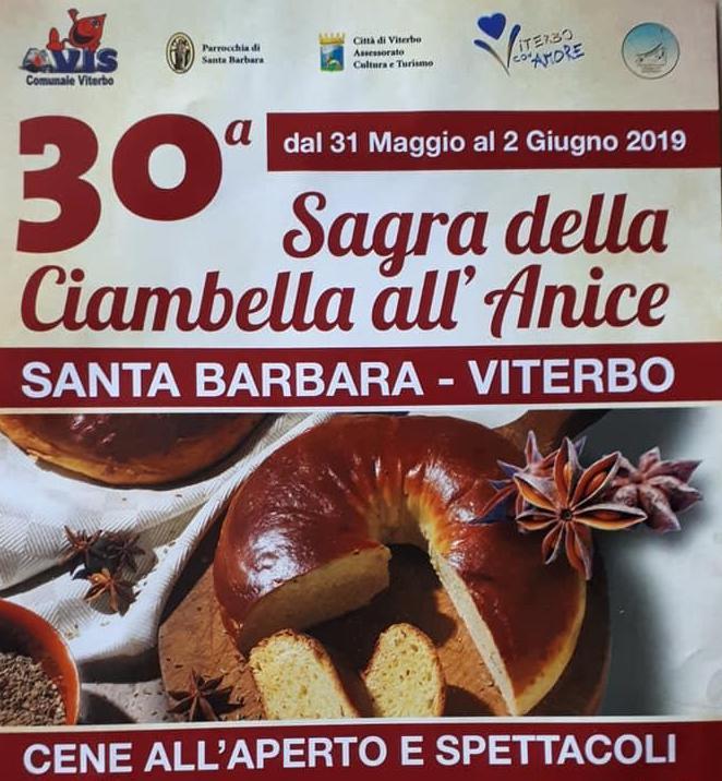 Festa della Ciambella all'Anice - Santa Barbara, Viterbo