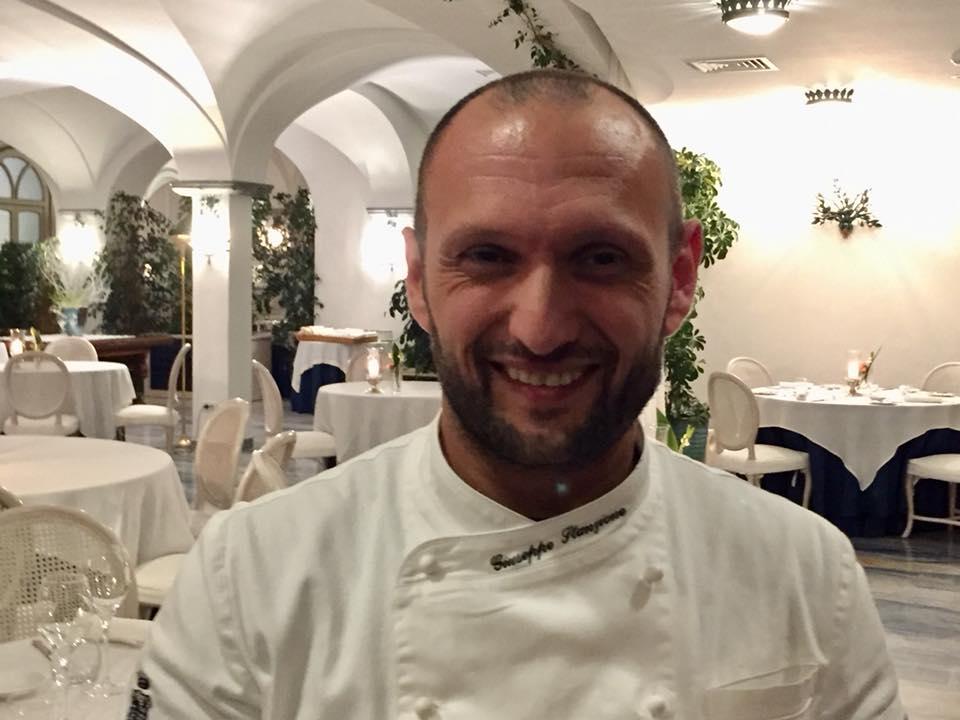 Il Glicine, Hotel Santa Cateria Amalfi, lo chef Peppe Stanzione