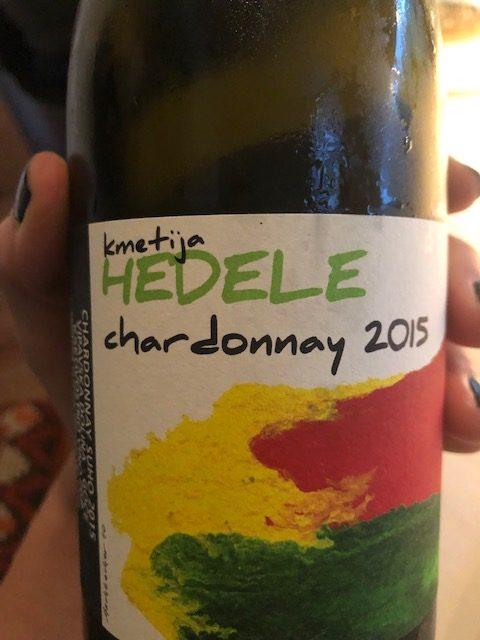 Kmetija Hedele, Chardonnay 2015