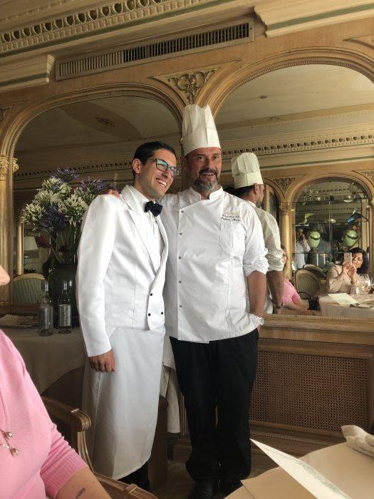 Lo chef Stefano Marzetti e il maitre Giampaolo Panico