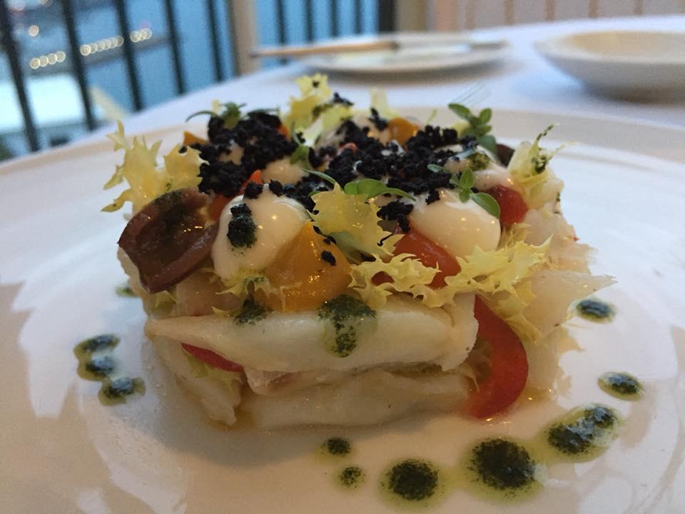 Il Glicine, Hotel Santa Cateria Amalfi, insalatina di baccala'