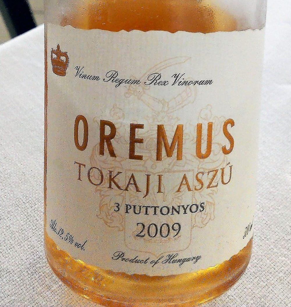 Da. Ni'. Formia – Tokaji dell'Ungheria OREMUS