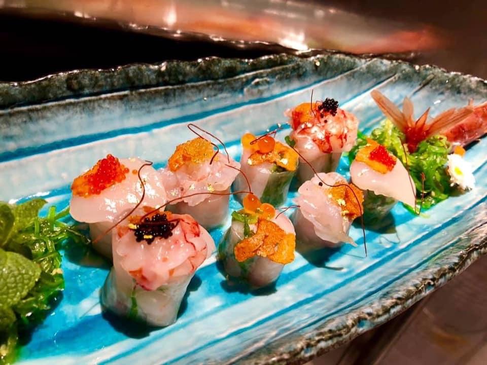 Sambamaki – Sashimi Roll