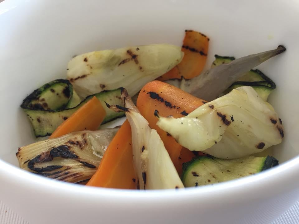 Quattro Passi, il dentice con verdure grigliate