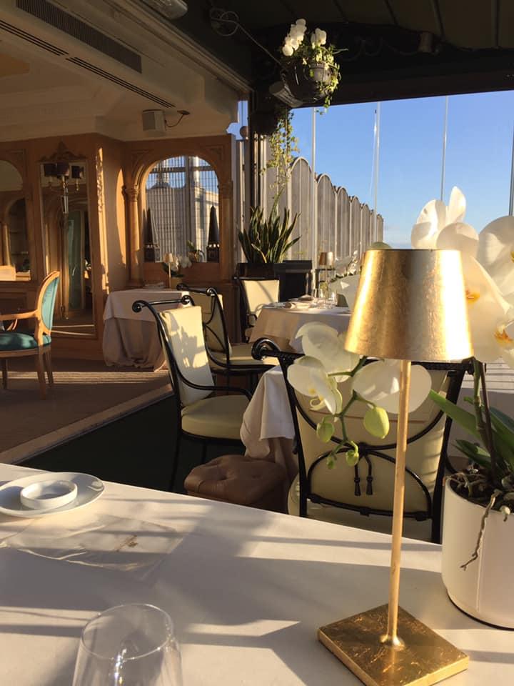 Mirabelle Restaurant, scorcio della veranda