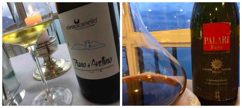Il Glicine, Hotel Santa Cateria Amalfi, vini