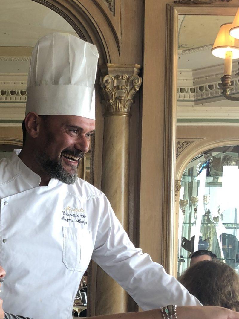 Lo chef Stefano Marzetti