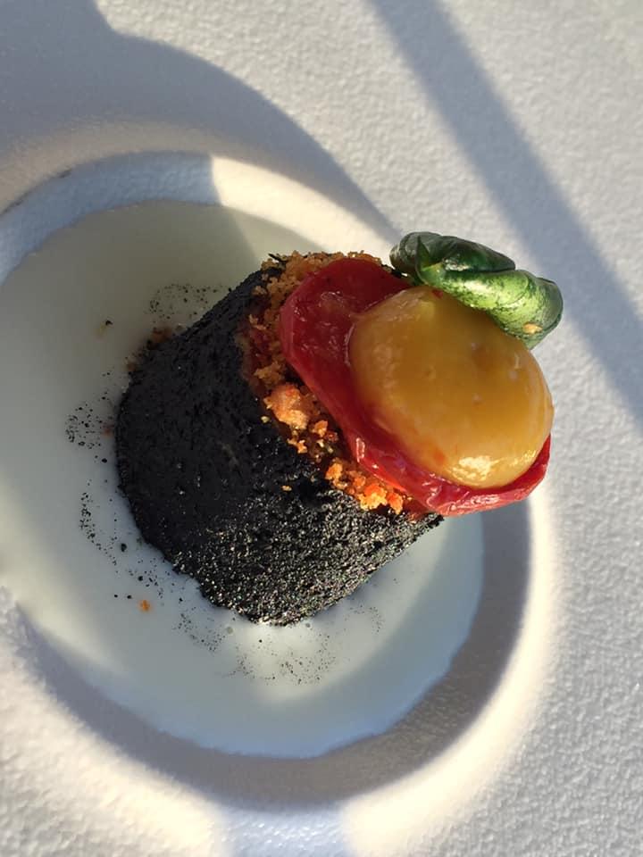 Mirabelle Restaurant, il benvenuto dello chef con il bocconcino di parmigiana