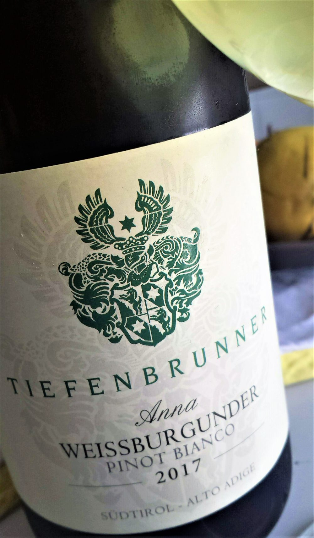 A.A. Pinot Bianco Anna 2017, Tiefenbrunner