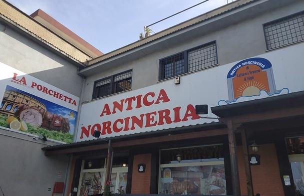 Antica Norcineria Lattanzi, l'esterno