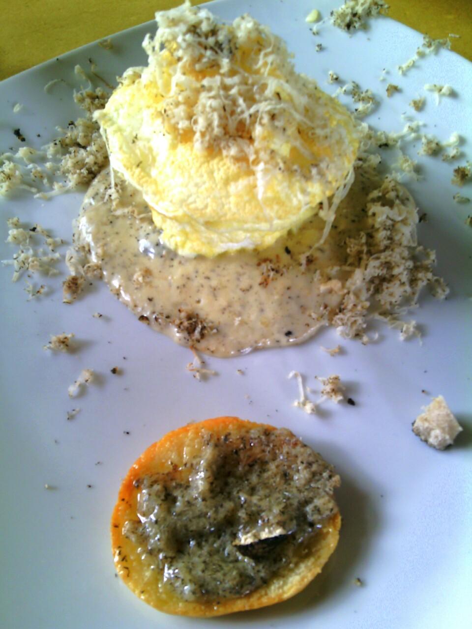 Appennino food- L'uovo e il tartufo