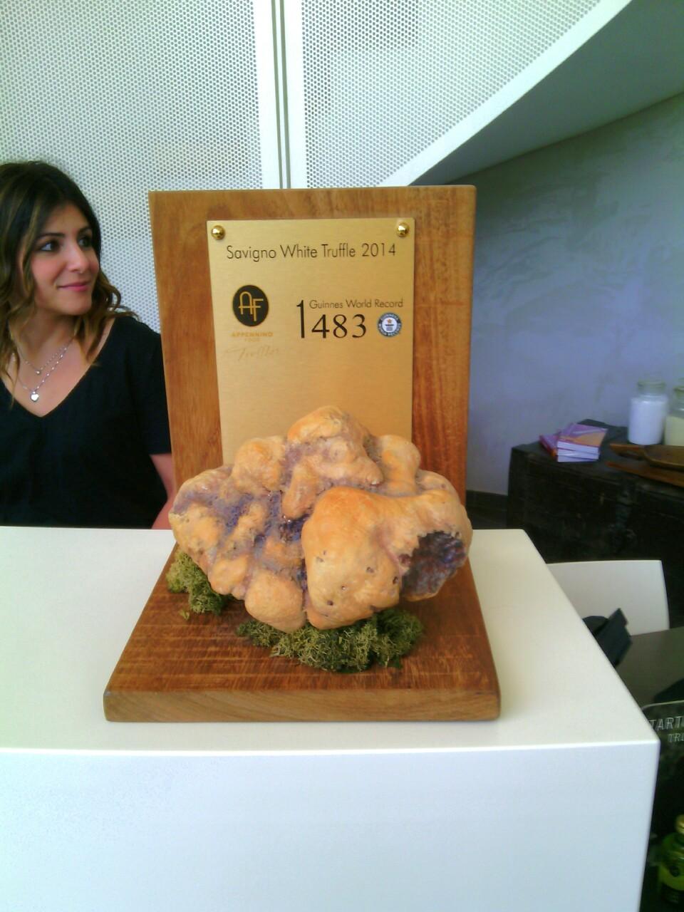 Apppennino food- un tartufo da record